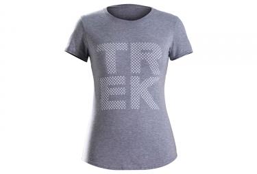 Trek Polka Dot Women's T-Shirt Grey