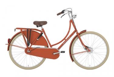 Velo hollandais gazelle classic orange 51 cm 155 170 cm