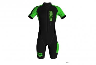 ARENA SWIMRUN Wetsuit Black Green