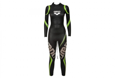 Arena Triwetsuit Carbon Black Green