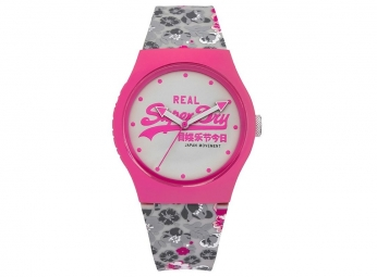 Montre Superdry Urban Floral Pink White