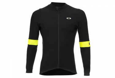 Oakley LS Jersey Thermal Black / Hi-Viz Yellow
