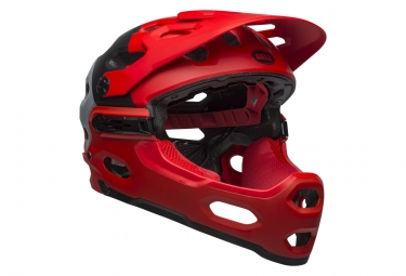 Bell Super 3R MIPS Helmet Red/Black/Grey 2019