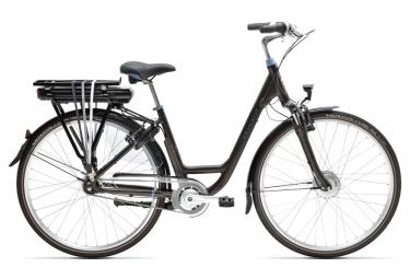 Bicicleta Ciudad Mujer Peugeot eC03 N7 500 Wh Marron / Marron