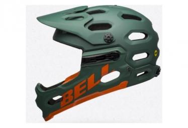 Casco Bell Super 3R MIPS Verde / Naranja 2019