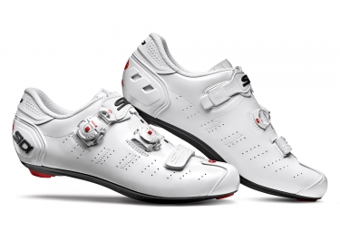 Chaussures route sidi ergo 5 blanc 42