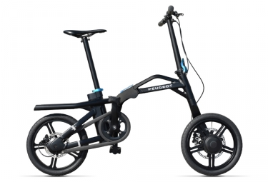 Velo pliant electrique peugeot ef01 single speed noir 2019 unique 165 190 cm