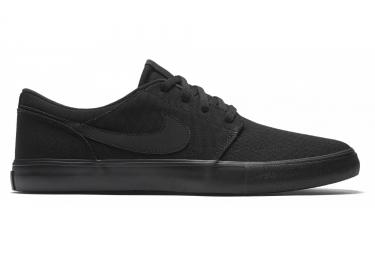Nike SB Solarsoft Portmore II Shoes Black
