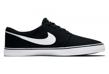 Nike SB Solarsoft Portmore II Shoes Black / White