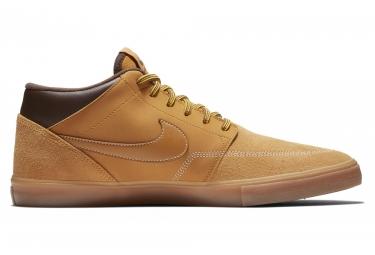 Nike SB Solarsoft Portmore II Mid Shoes Beige