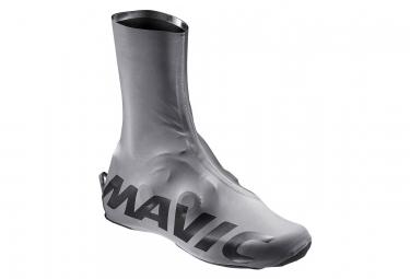 Paire de Couvre Chaussures Mavic Cosmic Pro H2O Vision Gris / Noir