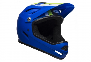 Bell Sanction Full Face Helmet Agility Matte Blue/Green 2019