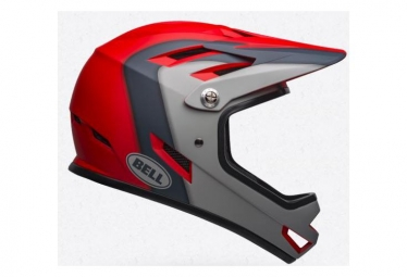 Casco Integral Bell Sanction Gris / Rouge