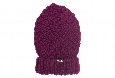 Image of Bonnet oakley mix yarn fushia