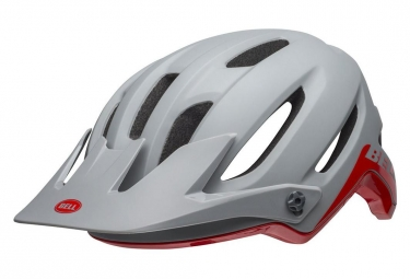 Casque Bell 4Forty Grey / Crimson 2019