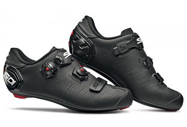 Chaussures route sidi ergo 5 mega noir mat 41