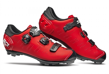 Sidi Dragon 5 SRS MTB Shoes Matte Red / Black