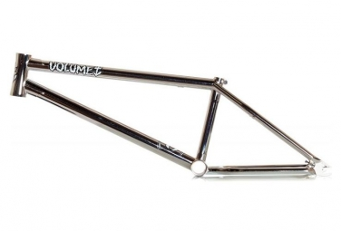 Cadre bmx freestyle volume vessel v2 chrome 20 75