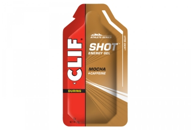 Clif Bar Clif Shot Energy Gel Mocha Caffeine