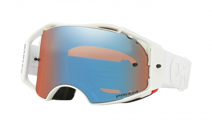 Oakley Airbrake MX / Factory Pilot Whiteout / Prizm Mx Sapphire / Ref. OO7046-59