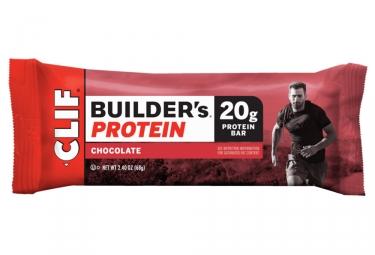 Barre Protéinée CLIF BAR Builder's Chocolat 68g