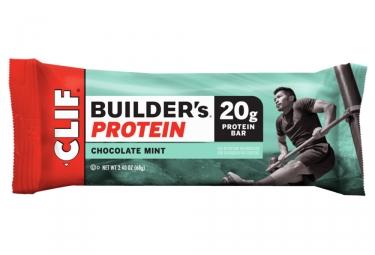 Barre Protéinée CLIF BAR Builder's Chocolat Menthe 68g