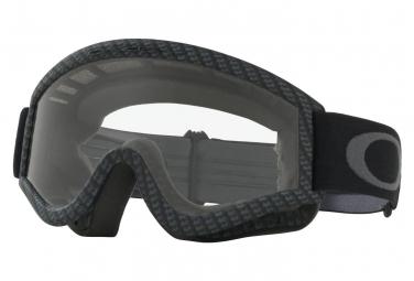 Masque oakley l frame mx goggle carbon fiber clear ref 01 230