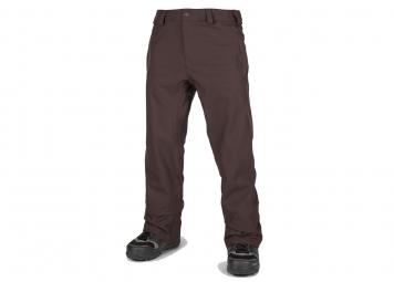 Pantalon de ski volcom freakin snow chino black red xl