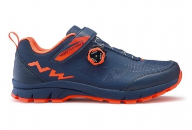 MTB Schuhe Northwave Corsair - Bleu / Orange -