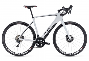 Velo de route electrique cube agree hybrid c 62 sl disc shimano ultegra 11v blanc no