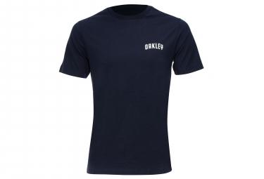 Oakley SS T-Shirt Fantasy Stripe Dark Blue