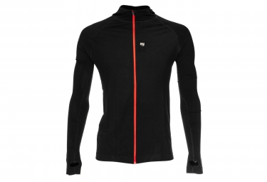 Compressport 3D Thermo Seamless Hoodie Black