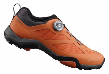 Chaussures vtt shimano sh mt700sr orange 46