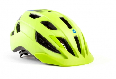 Helmets Kid Bontrager Solstice Mips Yellow/Waterloo Blue