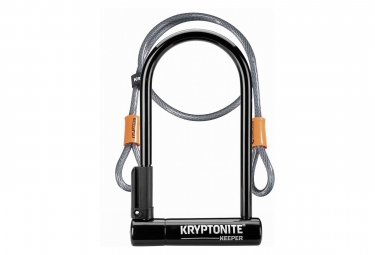 Antivol en u kryptonite u keeper 12 std avec cable kryptoflex