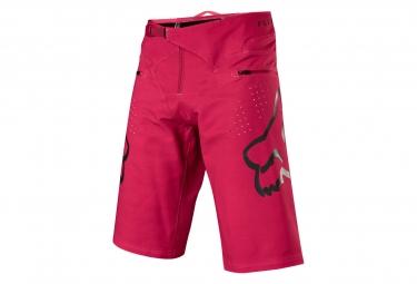 Short fox flexair rouge noir 34