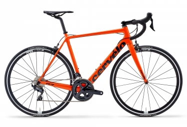 Cervélo R3 Rim Road Bike Shimano Ultegra 8000 11S Orange Navy Blue 2019