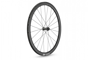 Roue avant dt swiss crc 1100 spline disc 38 boyau 12x100mm 2019