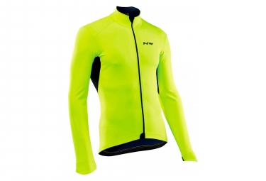 Veste manches longues northwave ghost h2o jaune m