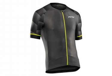 Jersey Short Sleeves Northwave Storm Air 2Graphite Yellow