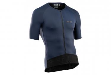 Jersey Short Sleeves Northwave Essence Blue S