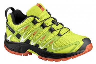 Chaussures randonnee salomon xa pro 3d k lime punch 28