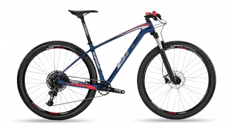MTB Hardtail BH Ultimate RC 6.5 Carbon 29'' Sram NX Eagle 12V Blu Rosso 2019