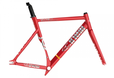 Cinelli Vigorelli Shark Frame Kit Red 2019