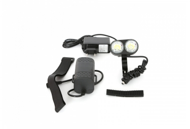Eclairage Avant MSC Light 2000 Lumens Double focus Noir