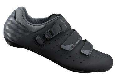 Zapatillas de carretera grandes SHIMANO RP301 negras