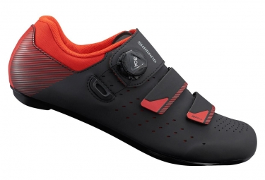 SHIMANO RP400 Road Shoes Black Orange Red