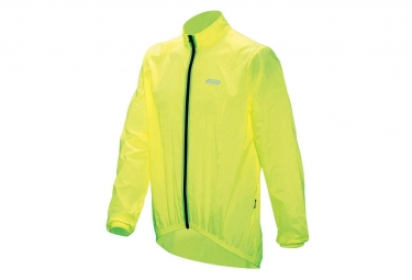 BBB BaseShield Rain Jacket Neon Yellow