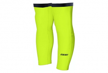 BBB ComfortKnee Thermofabric Knee Warmers Neon Yellow