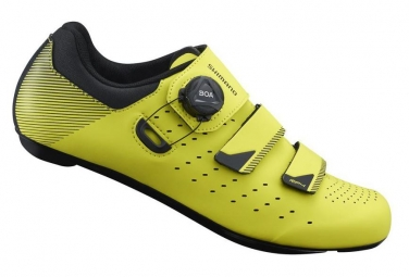 SHIMANO RP400 Road Shoes Yellow